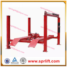 hot sale 4 post car lift for car suv truck/4 tons car Jack/esay parking lift with alignment/2 floor car Jack with CE approve(China)