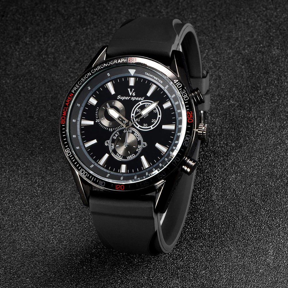 Men Watches Fashion Top Brand Luxury V6 Quartz Watch Gift Waterproof Ceramic Analog Wristwatches Relogio Msculino Relojes Hombre<br><br>Aliexpress