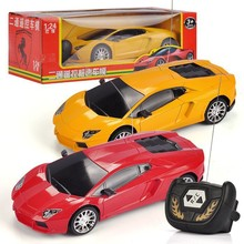 Electric 2CH Remote Control Car 1:24 Lamborghin RC Toy Racing Car Model Kids Baby Toys