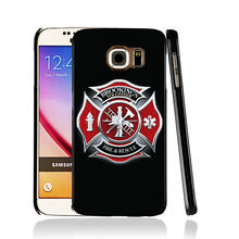 12712 firefighter for life cell phone case cover for Samsung Galaxy edge PLUS S7 S6 S5 S4 S3 MINI