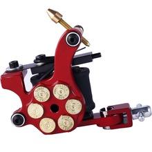 New Rotary Tattoo Machine Bullet Style 4 Colors Tattoo Machine For Tattoo Shader Liner Fashion Tattoo Machine Free Shipping