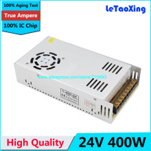 Single Output Switching power supply 24V 16.5A 400W Transformer 110V 220V AC To DC 24 V SMPS For Electronics Led Strip Display