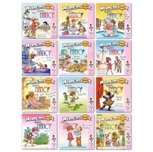 not cloth book 12 pcs/SET FANCY NANCY English children's picture story series(China)