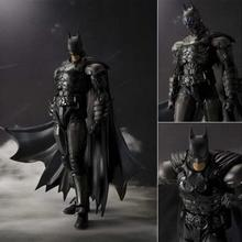 2016 New Original Box Bandai Batman Action Figure Movie Cartoon Bat-Man SHF 16cm PVC Model Anime Model Toys Juguetes kids toys