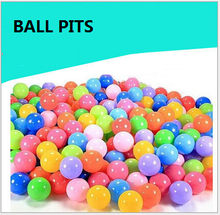 100PCS Colorful Ball Toy Soft Plastic Ocean Ball Funny Baby Kid Swim Pit Ball Toys Water Pool Ocean Wave Balls Dia 5.5cm ed-008