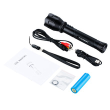 Multi-Functional Waterproof LED Flashlight with HD 720P DVR Recorder,Support Outdoor Laser Location/Video/Photograph/Recording