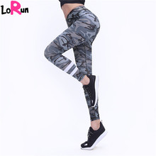 Buy LoRun Women's Sexy Hips Push Yoga Pants Camouflage Printed Fitness Gym Leggings Sport Tights Workout Stretch Trousers Pants for $17.75 in AliExpress store