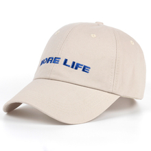 MORE LIFE Hat Aubrey Drake Graham Latest Album Exclusive Release Women and Men Dad Hat Quality Embroidery Baseball Cap Blue Font