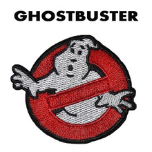 Ghostbuster ghost death squads  Embroidery the tactical military patches badges for clothes clothing HOOK/LOOP 7*6.1CM