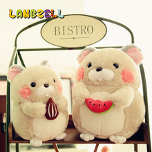 30cm/40cm Plush Toys Groundhog Doll Cute Hamster Doll Animals Stuffed Children's Toys Girlfriend's Gift(China)