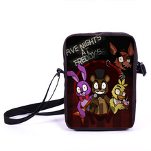 Five Nights Freddys Messenger Bag Boys Girls Mini Corss Bag Five Nights Freddy Women Shoulder Bags Children School Bags