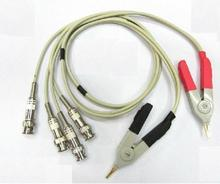 LCR Meter Test Leads / LCR test Clip / Terminal Kelvin Test Line High Quality free(China)