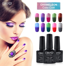 Elite99 10ml Temperature Color Changing Gel UV & LED Nail Gel Polish Profeesional Gel Nail Manicure Pick Any 1(China)