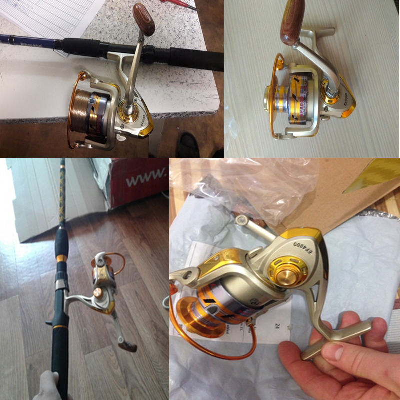 FDDL Metal Fishing Reel Baitingcasting Reel 5.51 EF1000-7000 10BB Lake Ocean Ice Fishing Gear Spinner Reel Fishing Coils (2)