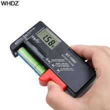 1pcs Black Digital Battery Tester Checker for 1.5V and AA AAA Cell Battery Power Measuring Tools(China)
