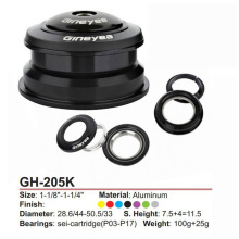 GH-205 44mm-50.6mm CNC bearing atx XTC MTB Giant Bicycle Headset special offer ciclismo pecas accessories