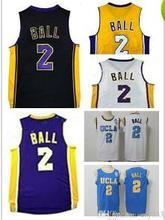 2 Lonzo Ball  Basketball Jersey  men's 2017 Draft   2017 New Men's UCLA  Ncaa college  Jerseys Embroidery and 100% Stitched