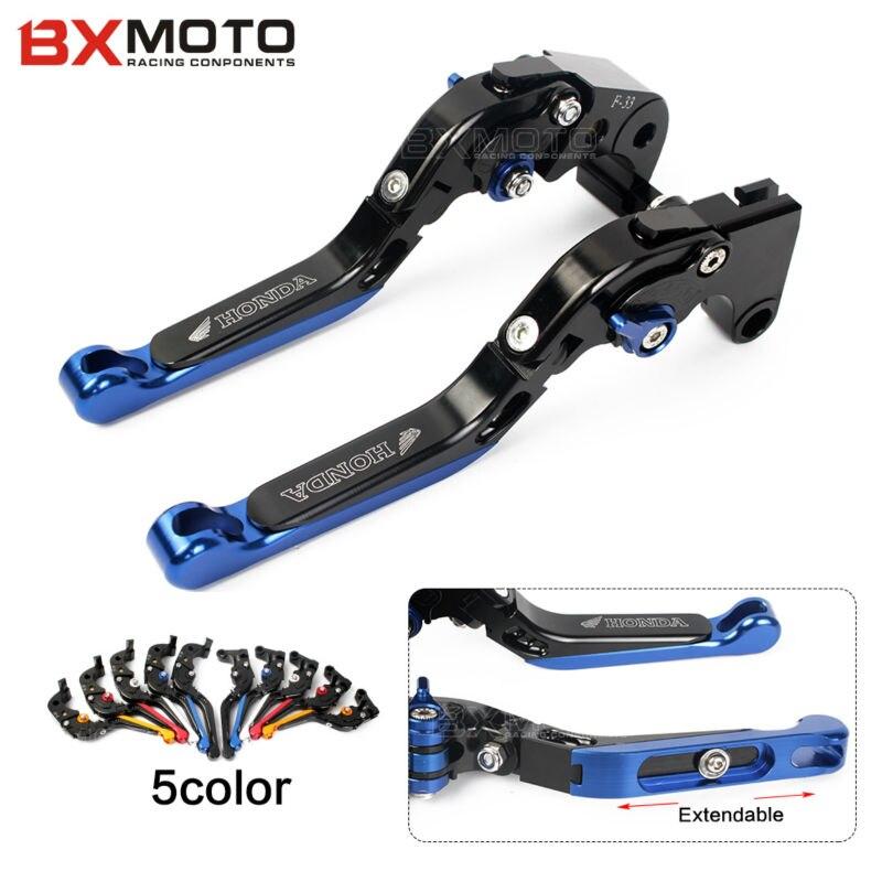 Motorbike Accessories CNC Folding &amp; Extending Brake Clutch Levers for HONDA CBR 600RR 2007-2015 CB 1000R 2008-2015<br>