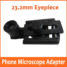 Medical Lab Laboratory Biological Stereo Microscope Use ! 23.2mm Eyepiece Lens Diameter Universal Mobile Phone Bracket Mount