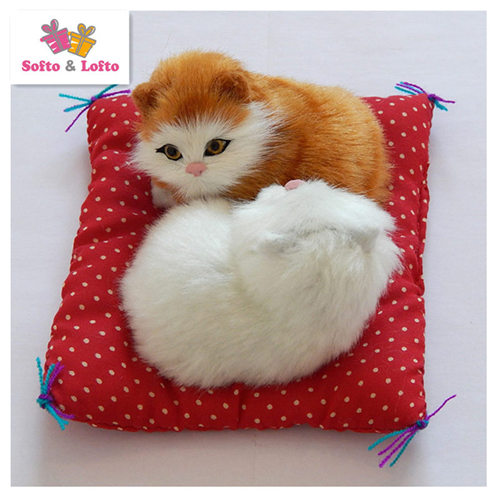 artificial cats couple toy,baby kat kittens pussy cat,doll decorations birthday gift for child girls3_
