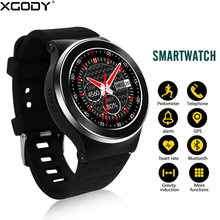 XGODY S99 Android Smart Watch With 5MP Camera Fitness Activity Tracker Wrist Watch Cell Phone 3G SIM Card GPS Smartwatch WIFI BT(China)