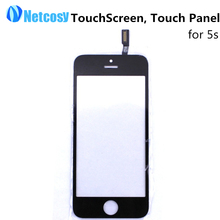 New Black Touch Screen Digitizer Touch Panel Glass Lens for Apple for iPhone 5S TouchScreen Replacement Repair Free shipping
