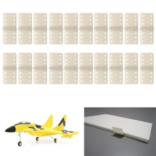 M89C20pcs Hinge Linker Plastic Small for RC Airplane Aircraft Helicopter Quadcopter Hot