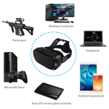VR All In One Virtual PC Glasses Virtual Reality Goggles 3D Headset VR Box for PS4 Xbox one Game Console 2560*1440 Android 5.1(China)