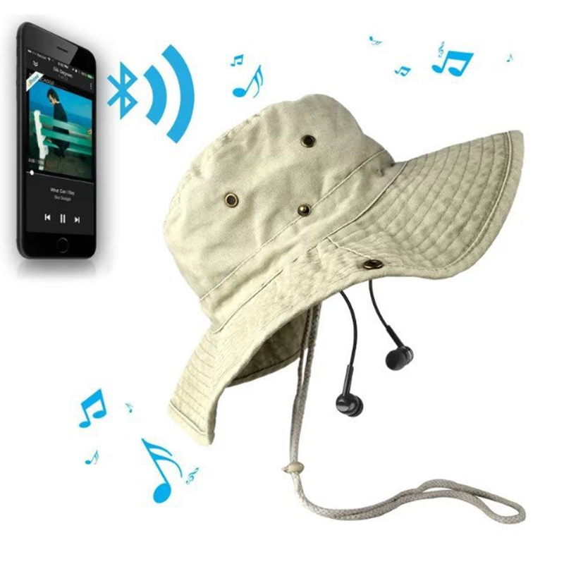 Bluetooth Earphone Hat for iPhone Samsung Android Phones Men Women Fishing Outdoor Sport Bluetooth Stereo Music Hat Wireless<br><br>Aliexpress