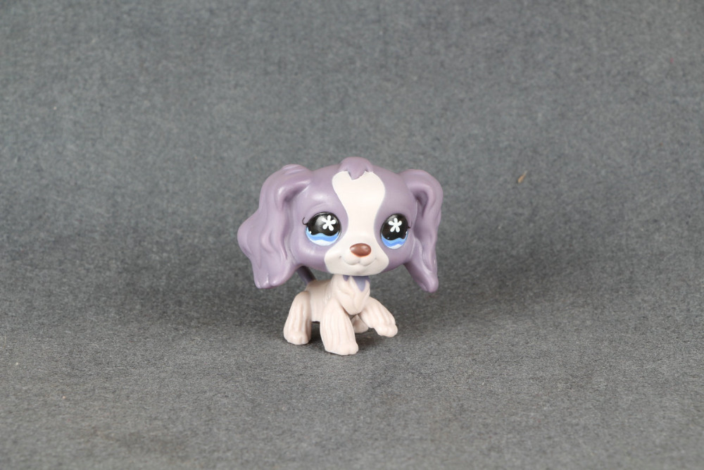 Lovely Pet Collection #672 LPS Cocker Spaniel Purple Dog / Chien Epagneul<br><br>Aliexpress