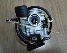CVK 20mm Performance Carburetor for 4 stroke Scooter Moped ATV 139QMB GY6 50 60 GY6 80 GY6 100 KYMCO GP110 VP110 LAB4 Agility