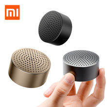 Original Xiaomi Speaker Mi Bluetooth 4.0 Wireless Mini Portable Stereo Handsfree Music Round Box Loudspeaker Ultra Car Speakers(China)