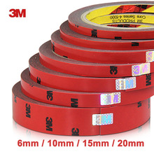 3 M Double faced Acrylic Foam Adhesive 3 meter long Tape 6/10/15/20/30/40mm Auto Special Sponge Puffs glue car decals Decoration