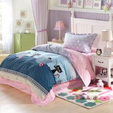 LOVEWM 3pcs bedding sets 1.2mbed used 100% cotton soft comfortable bedding set high quality