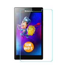 "9H Tempered Glass Screen Protector Film for Lenovo Tab2 Tab 2 A7-20 A7-20F A7-20LC 7"" Tablet + Alcohol Cloth + Dust Stickers"