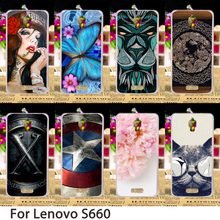 TAOYUNXI Soft Mobile Phone Cases For Lenovo S660 S668T 4.7 inch S 660 Cases Dirt-resistant Hard Back Covers Skin Bags(China)