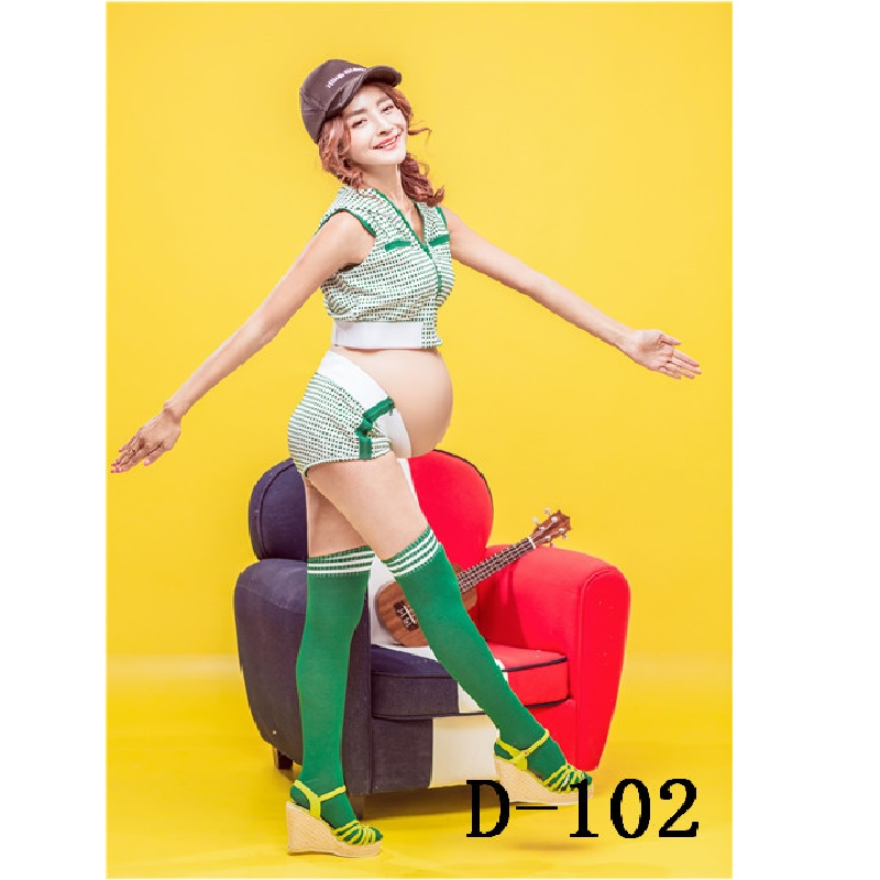 2017 New Women Summer Maternity Photography Sport Sets Clothing for Weman One Size Pregnancy Photography Shoot Props 3Pc Gift<br><br>Aliexpress