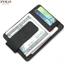 Buy VICUNA POLO Genuine Leather RFID Mens Wallet Casual Mini Short Men Purse Money Pocket Men Wallet Small Coin Purse Credit Card for $9.38 in AliExpress store