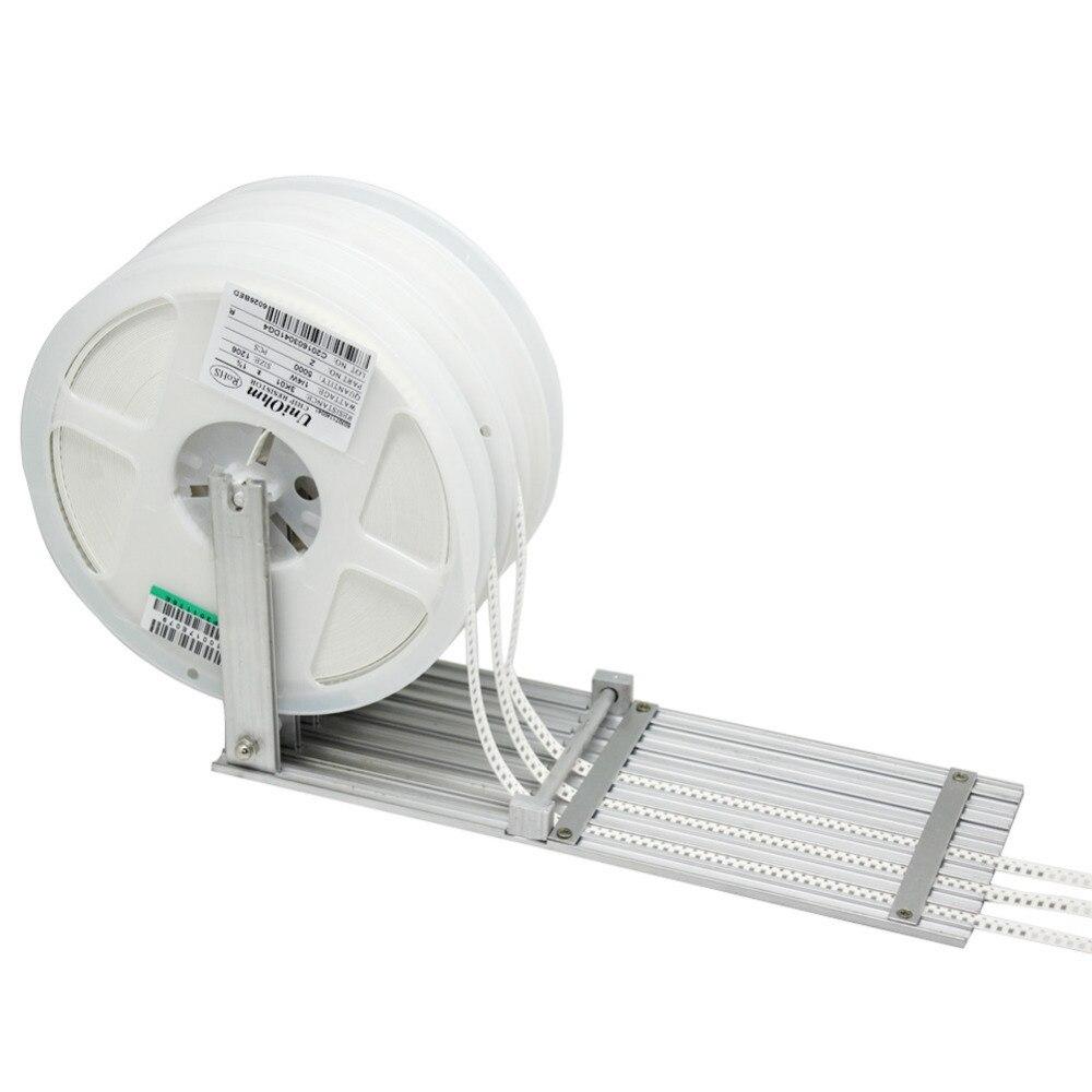 AideTek 5 way SMT Component Feeder for DIY Prototype Pick Up Place SDM SMT reel<br>