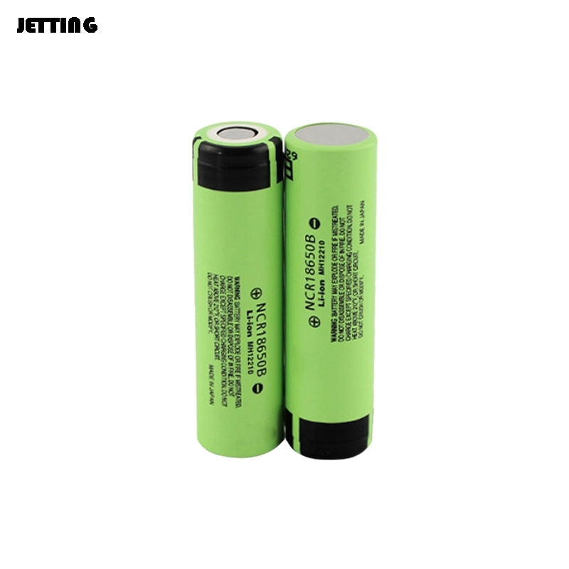 NCR18650B 3.7V 3400mAh 18650 Rechargeable Button Top Li-ion Battery For Flashlight and so on