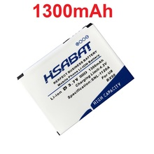 HSABAT BX50 1300mAh Battery for MOTOROLA RAZR2 V9 RAZR2 V9m Q9 Q9m Q9h Mobile Phone Batteries(China)