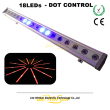 Wedding Stage Lighting LED Wash Colorful RGB/RGBW DMX Control 18LEDs