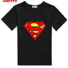 2017 new summer clothing cartoon Superman children T-shirt short sleeved T-Shirt Clothing For Boys Baby Clothing cotton T-Shirts