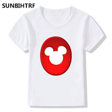 Summer Tops Children Tees Cartoon Funny Happy Birthday 1 9 Letter Print Baby T Shirts Big Girls Boys Shirt Casual Kids Clothes