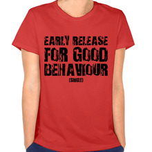 New Fashion Early Release for Good Behaviour Women's T-shirt Rock T-shirts T-shirt for Women(China)