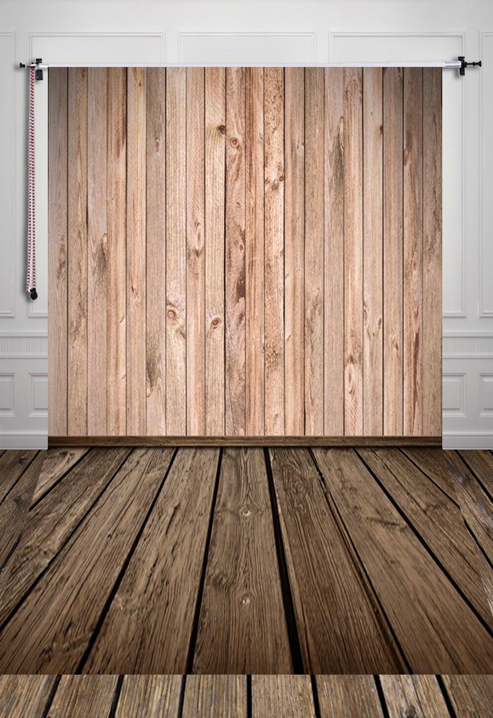 150*220CM Photography Background Wood Floor  Digital Printing Newborn Backdrops For Photo Studio D-7446