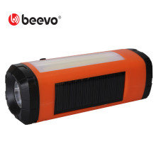 Outdoor Solar Bluetooth Speaker Wireless Portable Speaker Bluetooth Player  LED Flashlight Radio TF Card Features