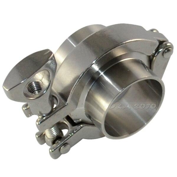 1pcs Tri Clamp +1pcs PTFE Gasket Set Stainless Steel SUS SS 316+2 Pcs 57MM 2-1/4 2.25 OD Sanitary Weld Ferrule +<br><br>Aliexpress