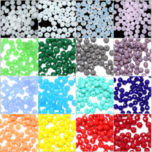 150Pcs/Lot Free shipping 4mm Candy Colour Faceted Glass Crystal Rondelle Spacer Beads Pick 16 Colors(China)