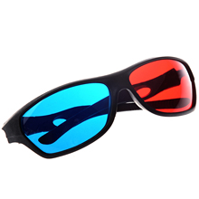ETC Hot Red&blue Cyan Anaglyph Simple Style 3D Glasses 3D movie game-Extra Upgrade